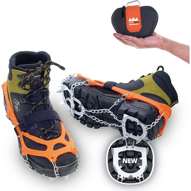 VERIGA Mount Track -Schuhkrallen Eiskrallen -Steigeisen Schuhketten Spikes 33-48 Größe: S (33-36) - Bild 1