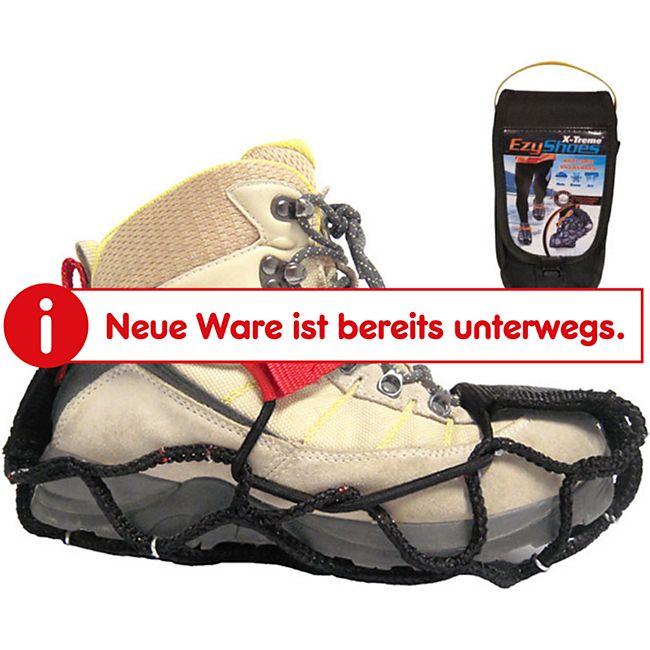 EZY SHOES Walk Über Schuh Krallen Eis Schnee Kette Spikes Gleitschutz Antirutsch Größe: S (32-36) - Bild 1