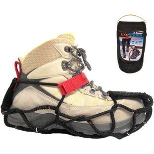EZY SHOES Walk Über Schuh Krallen Eis Schnee Kette Spikes Gleitschutz Antirutsch Größe: L (40-44) - Bild 1