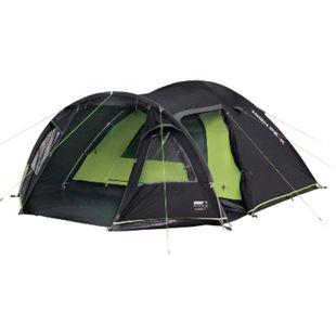 HIGH PEAK Iglu Zelt Mesos 4 Personen Camping Kuppelzelt Trekking Zelt Vorraum - Bild 1