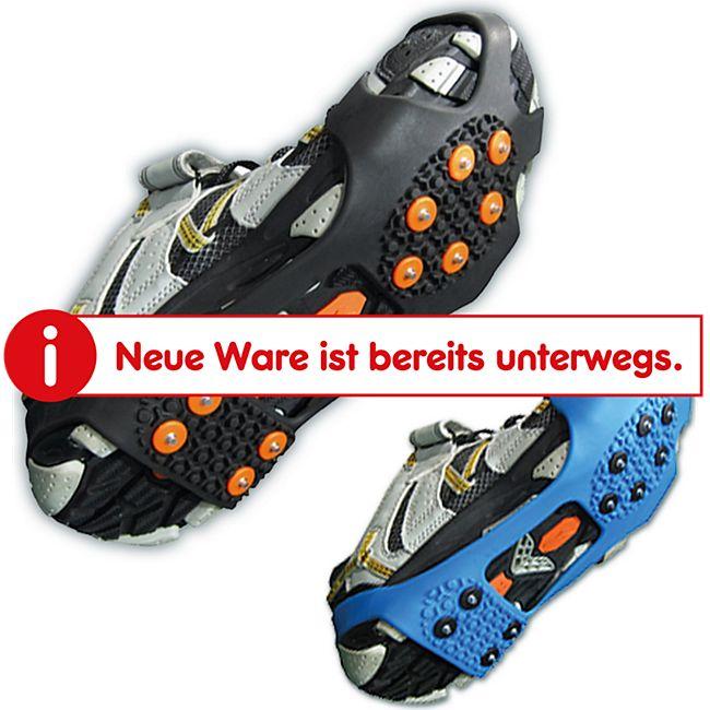 VERIGA City Track -Schuhkrallen -Schneketten f. Schuhe -Schuh Eis Spikes - 36-48 Größe: M (36-41), Farbe: blau - Bild 1