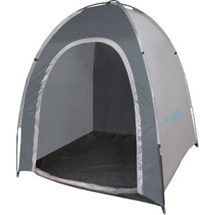 BO-CAMP Lagerzelt Gerätezelt Vorratszelt Beistell Zelt Umkleide Pavillon Camping - Bild 1