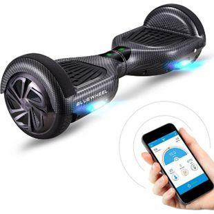 """Bluewheel Premium Hoverboard HX310s App-Steuerung 6.5""""... Carbon - Bild 1"""
