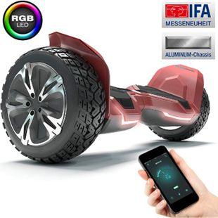 """Bluewheel 8.5"""" Premium Offroad Hoverboard HX510 SUV; Sicherheitsmodus... Rot - Bild 1"""