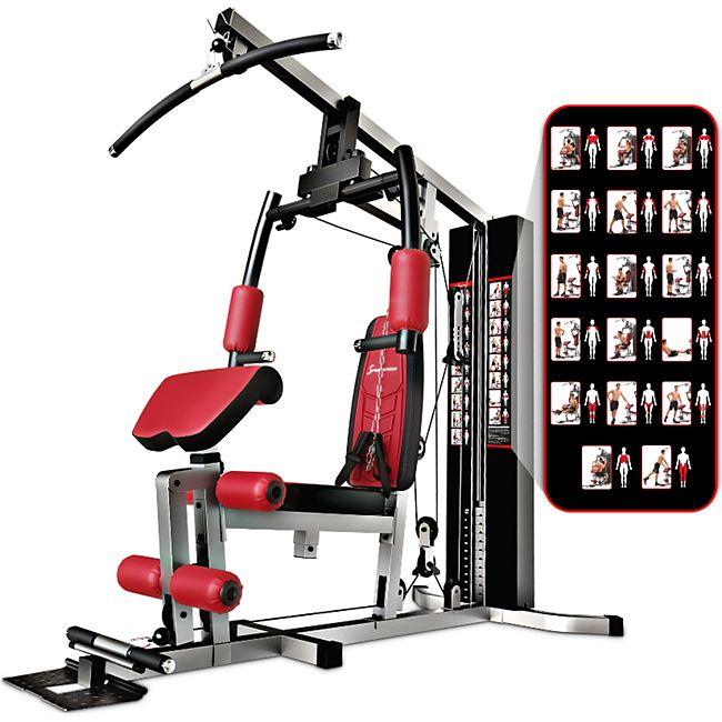 Sportstech Premium Kraftstation HGX100 Multifunktions-Homegym - Bild 1