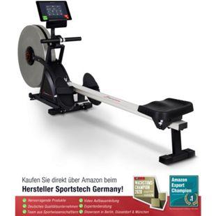 Sportstech 2in1 Profi Rudergerät RSX600 klappbar + Pulsgurt - Bild 1