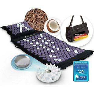 Sportstech AXM400 Akkupressurmatte | ideal im Set Massage Matte + Akupressur als perfektes Geschenk für Frauen | für wohltuende Entspannung bzw. Durchblutung | - Bild 1