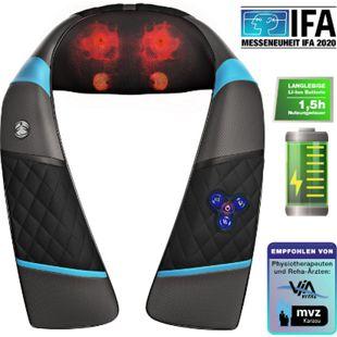 RelaxxNow Massagegerät RXM250 mit Akku für Schulter Rücken & Nacken... Weiß - Bild 1