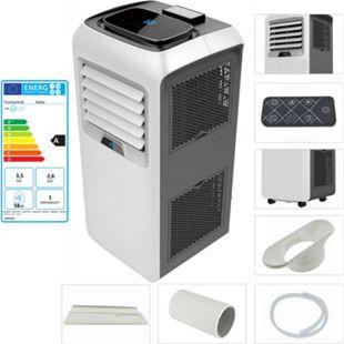 TroniTechnik mobile Klimaanlage HEKLA 12000 BTU inkl. Abluftschlauch, Fensterschiene und Fernbedienung - Bild 1