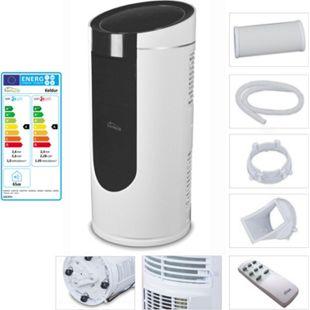 TroniTechnik KELDUR 4-in-1 Klimaanlage Klimagerät 9.000 BTU/2,6 kW inkl. Zubehör und Fernbedienung - Bild 1