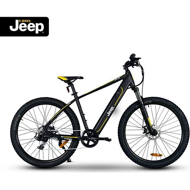"Jeep Mountain E-Bike MHR 7000. 27,5"" Laufräder, Shimano Altus 8-Gang Kettenschaltung, black - Bild 1"