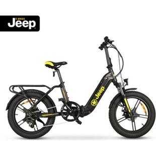 "Jeep Fold E-Bike FR 7000, 20"" Kompaktrad, Falt-E-Bike, 7-Gang Kettenschaltung, black - Bild 1"