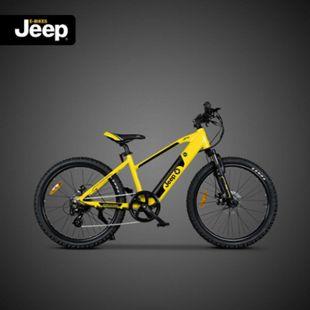 Jeep Teen E-Bike TR 7002, 24 Zoll Laufräder, 7-Gang Shimano Kettenschaltung, yellow - Bild 1