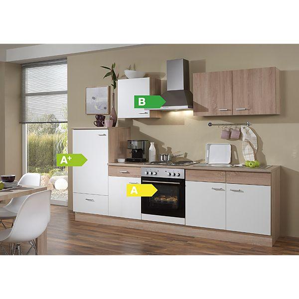 Menke Küchen Küchenzeile Sonja 270 cm ohne Geschirrspüler - 4 ...