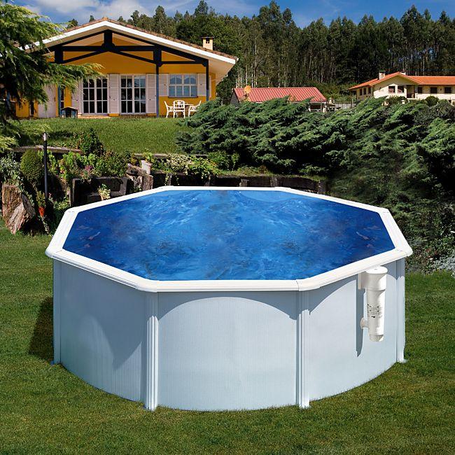 Gre bora bora dream pool rund 300 x 120 cm for Stahlwandbecken set rund