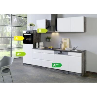 Möbel Plus De held möbel küchenzeile cardiff 280 cm hochglanz weiß plus de