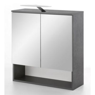 spiegelschrank beleuchtung gunstig, wilmes spiegelschrank pure mit led beleuchtung in graphit günstig, Innenarchitektur