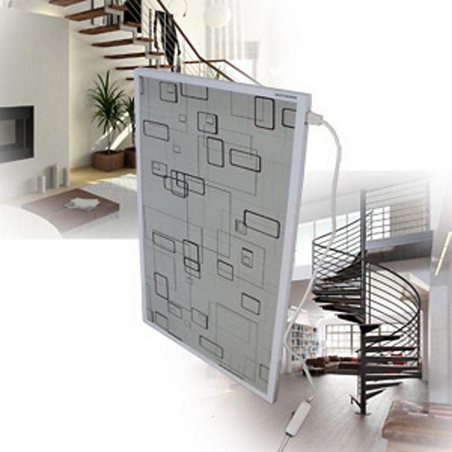 mauk infrarot heizk rper modern box grey g nstig online kaufen. Black Bedroom Furniture Sets. Home Design Ideas