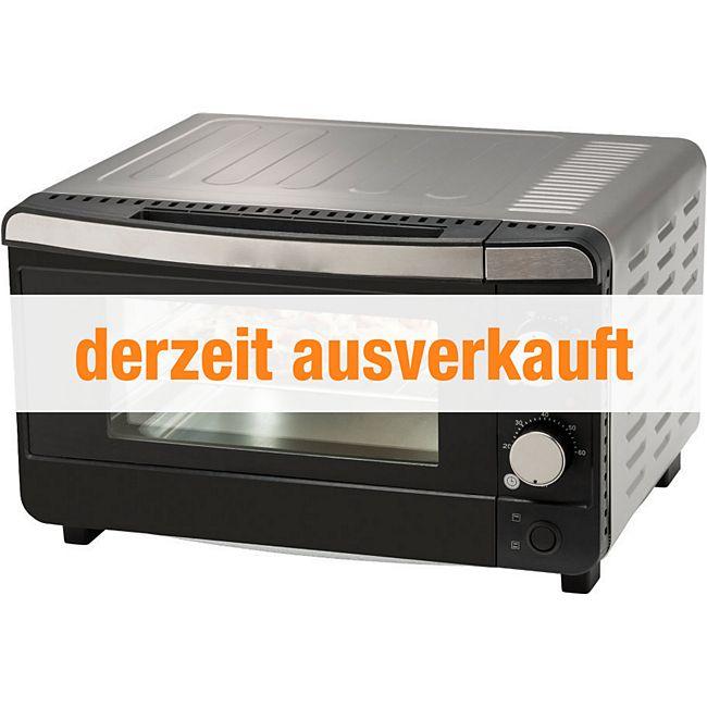 mini backofen medion md 15720 mit watt leistung 13 l garinnenraum g nstig online. Black Bedroom Furniture Sets. Home Design Ideas