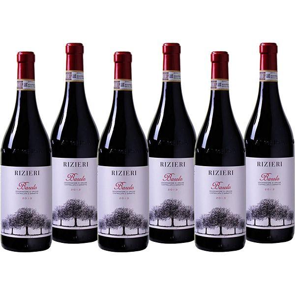 produkt 6 fl rizieri barolo docg rotwein italien 2012 - Kchen Mit Weien Schrnken Und Dunklen Bden