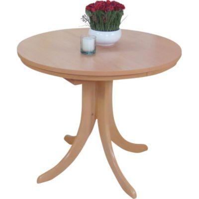Möbel Plus De möbel direkt esstisch rund mit auszugfunktion rom plus