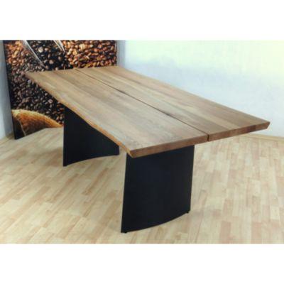Möbel Plus De möbel direkt baumkantentisch massivholz denver plus