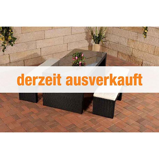 clp polyrattan gartenbar coruna komplett set bestehend aus 2 x sitzbank und 1x bartisch. Black Bedroom Furniture Sets. Home Design Ideas