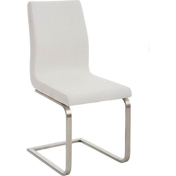 clp design esszimmer stuhl belfort edelstahl freischwinger stuhl stoffbezug farbwahl - Farbwahl Esszimmer