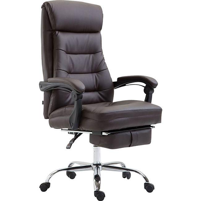 clp b rostuhl hades mit hochwertiger polsterung und kunstlederbezug i h henverstellbarer. Black Bedroom Furniture Sets. Home Design Ideas