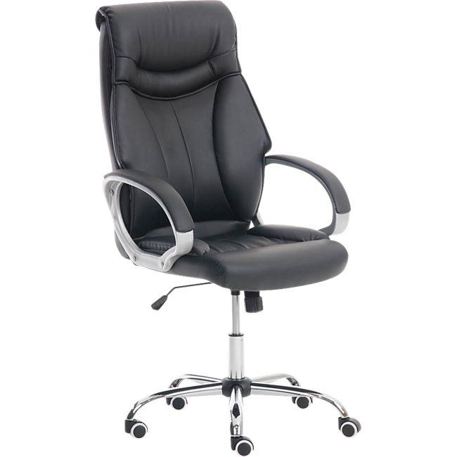 clp b rostuhl torro mit kunstlederbezug und hochwertiger polsterung ergonomischer b rosessel. Black Bedroom Furniture Sets. Home Design Ideas