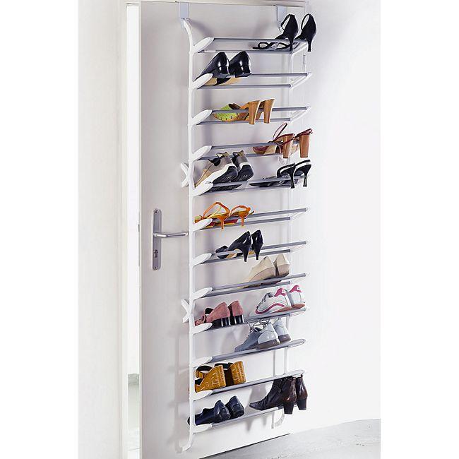schuhregal f r die t r zum h ngen f r 36 paar schuhe g nstig online kaufen. Black Bedroom Furniture Sets. Home Design Ideas