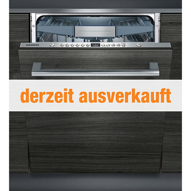 siemens einbau geschirrsp ler vollintegriert sn636x00te g nstig online kaufen. Black Bedroom Furniture Sets. Home Design Ideas