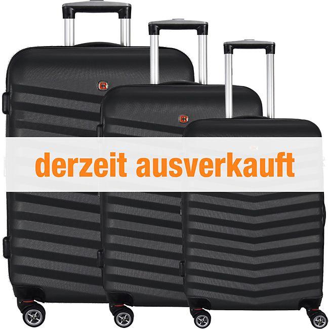 5c4a9bb654cd1 Wenger Luggage Reisegepäck Hardside Basic 4-Rollen Kofferset 3tlg. günstig  online kaufen