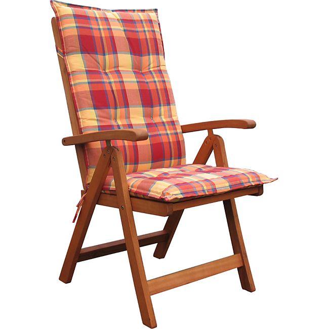 grasekamp klappsessel santos mit kissen sunshine klappstuhl g nstig online kaufen. Black Bedroom Furniture Sets. Home Design Ideas