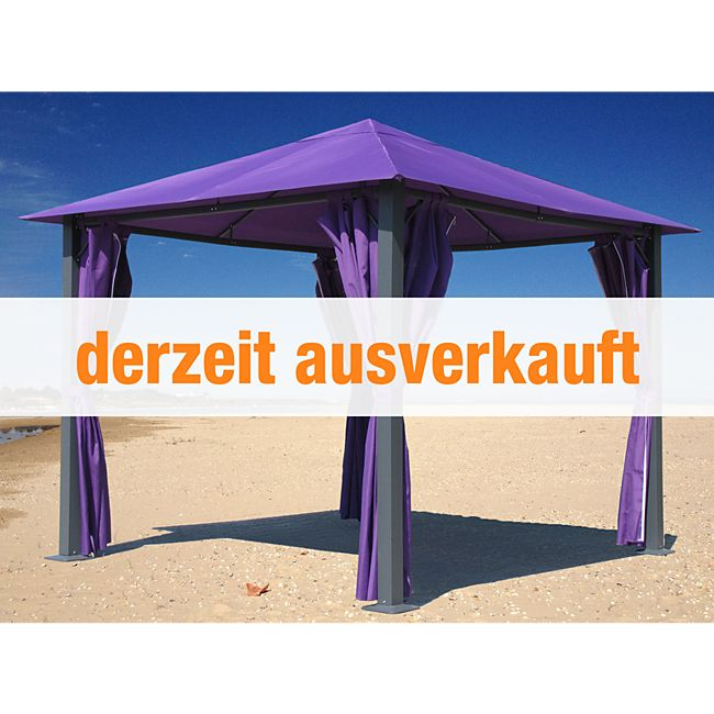 grasekamp gartenpavillon paris 3x3m beere pavillon partyzelt gazebo antik g nstig online kaufen. Black Bedroom Furniture Sets. Home Design Ideas