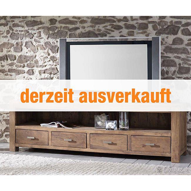 Fernsehtisch Guru Akazie Stone 200 cm 4 Schübe by Wolf Möbel