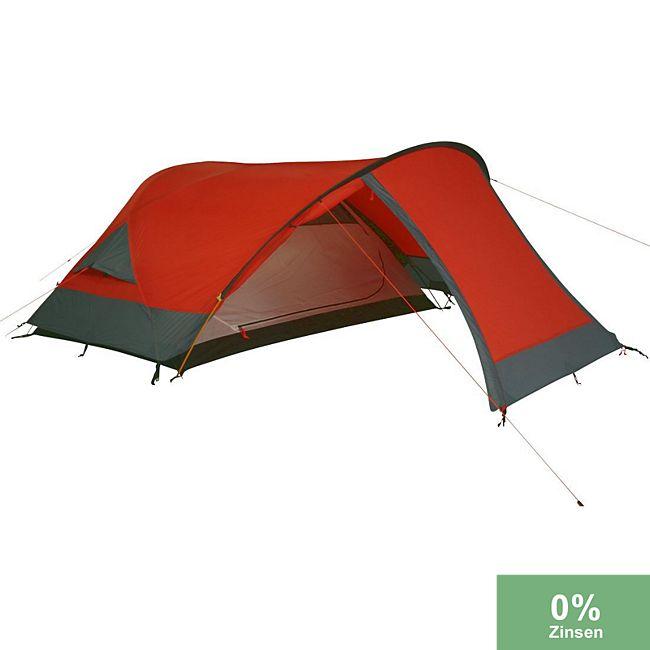26a87d2b08fc2e 10T Camping-Zelt Silicone Biker 2 Kuppelzelt mit Schlafkabine für 2 Person  Outdoor Trekkingzelt mit Vorraum