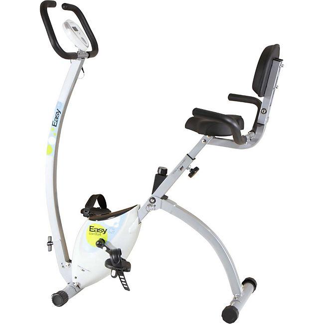 tecnovita bh fitness easyc confort yfax92 klappbarer heimtrainer doppel bertragungssystem. Black Bedroom Furniture Sets. Home Design Ideas