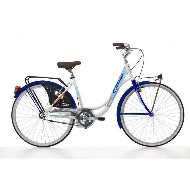 26 zoll cinzia liberty damen holland fahrrad wei blau. Black Bedroom Furniture Sets. Home Design Ideas