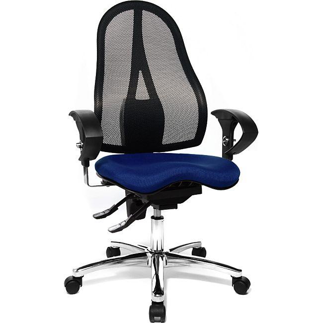 topstar fitness drehstuhl sitness 15 blau g nstig online kaufen. Black Bedroom Furniture Sets. Home Design Ideas