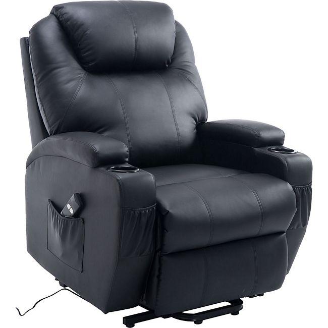homcom elektrischer fernsehsessel mit aufstehhilfe g nstig online kaufen. Black Bedroom Furniture Sets. Home Design Ideas