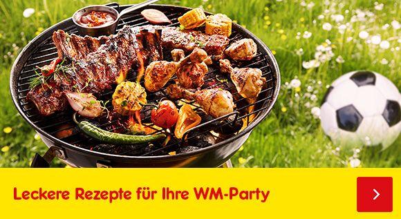 Leckere Rezepte für Ihre WM-Party finden Sie hier!