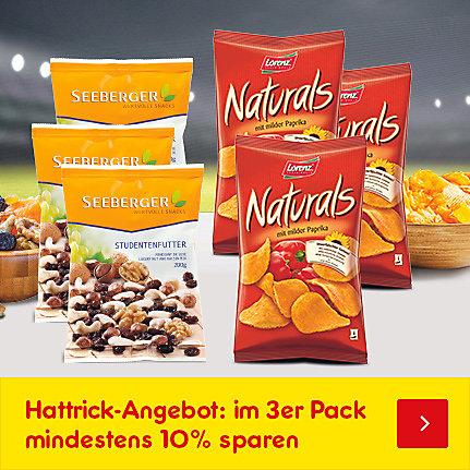 Unser Hattrick-Angebot: im 3er Pack günstiger - mindestens 10% sparen