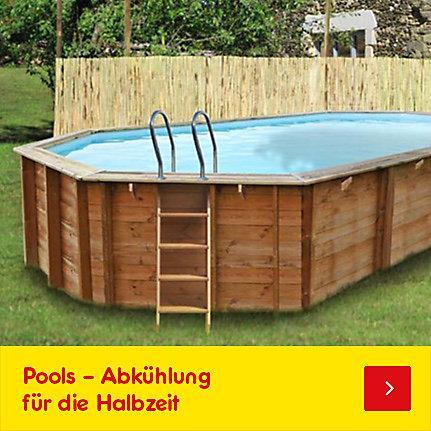 Pools - Abkühlung für die Halbzeit!